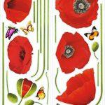 stickers muraux rouge TOP 0 image 4 produit