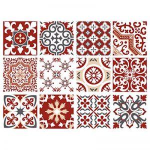 stickers muraux rouge TOP 12 image 0 produit