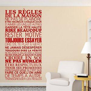 stickers muraux rouge TOP 6 image 0 produit