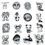 stickers noir et blanc TOP 10 image 2 produit