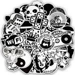 stickers noir et blanc TOP 11 image 2 produit