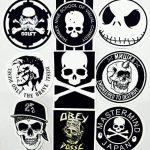 stickers noir et blanc TOP 12 image 2 produit
