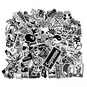 stickers noir et blanc TOP 13 image 0 produit