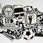 stickers noir et blanc TOP 2 image 2 produit