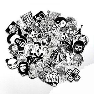 stickers noir et blanc TOP 8 image 0 produit