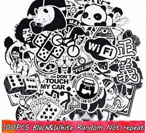 stickers noir et blanc TOP 9 image 0 produit