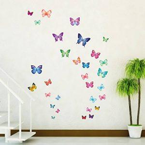 stickers papillon TOP 2 image 0 produit