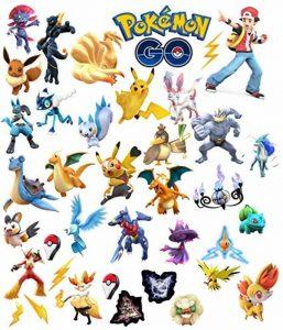 Stickers pour chambre d'enfant Pokémon Go de la marque Narret83 image 0 produit