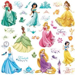 stickers princesse TOP 2 image 0 produit