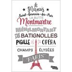 Stickers Tansfert Messages Paris Montmartre Nouvelles Images de la marque NOUVELLES-IMAGES image 2 produit