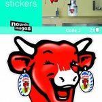 stickers vache TOP 8 image 1 produit