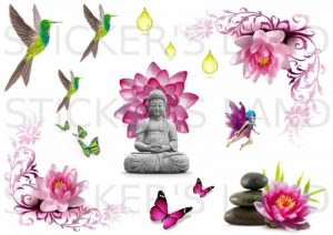 stickers zen TOP 1 image 0 produit