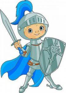 Stickersnews - Sticker autocollant enfant Chevalier épée réf 3610 Dimensions - 30 cm de la marque N/D image 0 produit