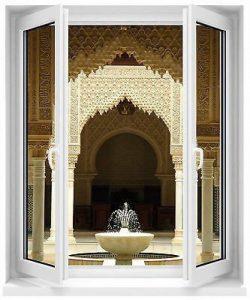 Stickersnews - Sticker fenêtre fontaine orientale 100x120cm réf F506 de la marque N/D image 0 produit