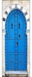 Stickersnews - Sticker pour porte trompe l oeil décoration intérieure porte orientale réf 530 Dimensions - 93x204cm de la marque N/D image 0 produit