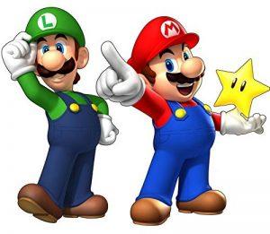 Stickersnews - stickers autocollant Mario et Luigi réf 15032 Dimensions - 30 cm de la marque N/D image 0 produit