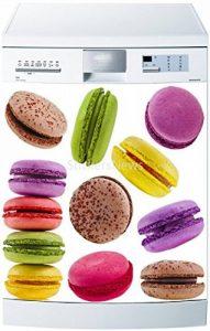 Stickersnews - Stickers lave vaisselle ou magnet Macarons 5497 Dimensions - 60x60cm de la marque N/D image 0 produit