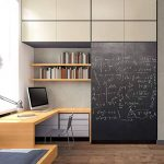 Tableau noir Autocollant en vinyl Effaçable Adhésif Ardoise Sticker Mural pour école chambre bureau 107 x 200cm, Fancy-Fix de la marque fancy-fix image 3 produit