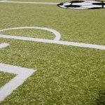 Tapis Enfants Football Jouer Tapis pour Chambre d'enfant Terrain De Football en Vert Crème, Dimension:80x150 cm de la marque T-T-Design image 1 produit