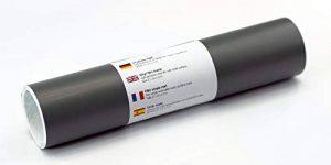 Tatouage mural autocollant / film pour traceur Film vinyle mat 21 cm x 3 m (gris foncé) de la marque Kreativplotter image 0 produit