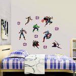 The Avengers Personnalisé 3D Cartoon stickers muraux pour les chambres garçons et filles sticker mural Taille: Grand 76 cm X 72 cm de la marque Interpaw image 1 produit