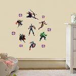 The Avengers Personnalisé 3D Cartoon stickers muraux pour les chambres garçons et filles sticker mural Taille: Grand 76 cm X 72 cm de la marque Interpaw image 2 produit