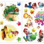Thedecofactory 871SCS Nintendo Super Mario Galaxy 2 ROOMMATES REPOSITIONNABLES (32 Stickers), Vinyle, Multicolore, 104 x 26 x 2,5 cm de la marque Thedecofactory image 2 produit