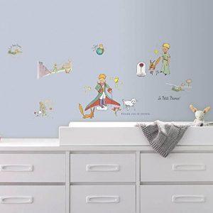 Thedecofactory HMD0001SCS Petit Prince ROOMMATES REPOSITIONNABLES (26 Stickers), Vinyle, Multicolore, 104 x 26 x 2,5 cm de la marque Thedecofactory image 0 produit
