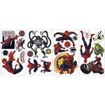 Thedecofactory RMK1795SCS Marvel Spiderman ROOMMATES REPOSITIONNABLES (22 Stickers) 24972161, Vinyle, Multicolore, 104 x 26 x 2,5 cm de la marque Thedecofactory image 2 produit