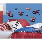 Thedecofactory RMK1795SCS Marvel Spiderman ROOMMATES REPOSITIONNABLES (22 Stickers) 24972161, Vinyle, Multicolore, 104 x 26 x 2,5 cm de la marque Thedecofactory image 1 produit