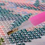 Tianmai Hot nouveaux DIY 5d Diamant Peinture kit Cristaux Diamant Broderie Strass Peinture Collez-le Peinture par numéro Kits point de Craft Kit Home Decor Sticker mural - Voiture de Sport Nautique, 30x45cm de la marque TianMai image 2 produit