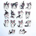 ⭐️ Top Stickers ! ⭐️ Lot de 14 Stickers Chi Une Vie De Chat - Autocollant Top Qualité et Non Vulgaires – Chi's Sweet Home - Customisation ordinateur portable, bagages, moto, vélo, mur... (#14-CHI) de la marque SetProducts image 2 produit