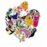 ⭐️ Top Stickers ! ⭐️ Lot de 29 Stickers Adventure Time - Autocollant Top Qualité Vinyles Non Vulgaires – Style, Bomb - Customisation ordinateur portable, bagages, moto, vélo, skateboard… (#29-ATIME) de la marque SetProducts image 3 produit