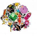 ⭐️ Top Stickers ! ⭐️ Lot de 29 Stickers Adventure Time - Autocollant Top Qualité Vinyles Non Vulgaires – Style, Bomb - Customisation ordinateur portable, bagages, moto, vélo, skateboard… (#29-ATIME) de la marque SetProducts image 1 produit