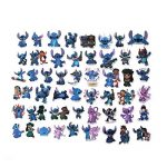 ⭐️ Top Stickers ! ⭐️ Lot de 50 Stickers Lilo et Stitch - Autocollant Top Qualité et Non Vulgaires – Super, Bomb, Fun, Lilo&Stitch - Customisation ordinateur portable, bagages, moto, vélo (#50-LILO) de la marque SetProducts image 1 produit