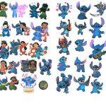 ⭐️ Top Stickers ! ⭐️ Lot de 50 Stickers Lilo et Stitch - Autocollant Top Qualité et Non Vulgaires – Super, Bomb, Fun, Lilo&Stitch - Customisation ordinateur portable, bagages, moto, vélo (#50-LILO) de la marque SetProducts image 2 produit