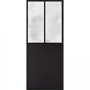 Trompe l'oeil porte Adhésif 141063 Décoration Murale Polyvinyle, Gris, 83 x 0,1 x 204 cm de la marque Trompe l'oeil porte Adhésif image 0 produit