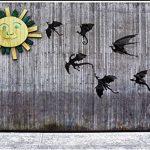 Tuopuda Halloween Stickers Muraux 42-Pcs Dragons 3D Autocollants Muraux Autocollants Art Décoratifs Artisanat Halloween Décoration pour fêtes (noir) de la marque Tuopuda image 1 produit