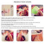 Twuky 5D DIY Couverture complète Diamant Peinture Point De Croix Broderie Diamond Painting Kits Salon Chambre Décoration Autocollant mural,Chat de réflexion(12X12inch/30X30CM) de la marque Twuky image 3 produit