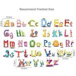 ufengke Adhesif Stickers Muraux Lettres Animaux Decoration Autocollant Mural Texte pour Chambre Bébé Enfants Salon de la marque ufengke home image 3 produit