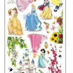 ufengke® Belle Princesse Mignon Petits Nains et le Château de Dessin Animé Stickers Muraux, la Chambre des Enfants Pépinière Autocollants Amovibles de la marque ufengke-décor image 3 produit