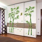 ufengke® Chinois Style Vert Bambou et Oiseau Stickers Muraux, Salle de Séjour Chambre à Coucher Autocollants Amovibles de la marque ufengke-décor image 4 produit