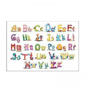 Vosarea Amovible Cartoon Alphabet Lettres Stickers Muraux Autocollants Stickers Muraux pour Maternelle Nursery Enfants Chambre Décor de la marque Vosarea image 0 produit