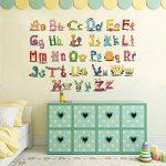Vosarea Amovible Cartoon Alphabet Lettres Stickers Muraux Autocollants Stickers Muraux pour Maternelle Nursery Enfants Chambre Décor de la marque Vosarea image 2 produit