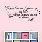 Vosarea Français Stickers Muraux Amovibles Stickers Mural Citations Prononcés Mots Art Décor de la marque Vosarea image 4 produit