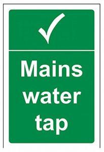 Vsafety secteur robinet d'eau sans état général Panneau, autocollant, portrait de la marque VSafety image 0 produit