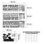 Wallflexi WFX9311SS16 Sticker Mural Vinyle, Multicolore, 90 x 30 x 0,14 cm de la marque Wallflexi image 3 produit
