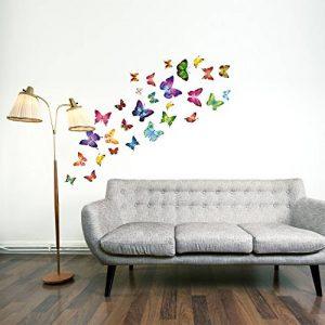 Walplus 21 jolis autocollants motif papillon pour chambre d'enfant de la marque WALPLUS image 0 produit