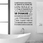 Walplus Adhésif Autocollant Mural Salle à manger pour les garçons et les filles enfants autocollant mural décor à la maison vinyle citation de cuisine Art Mural Salle de bain règles français de la marque WALPLUS image 2 produit