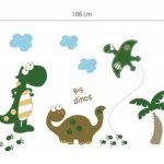 Walplus Set de stickers muraux Motif dinosaures Grand format de la marque WALPLUS image 2 produit